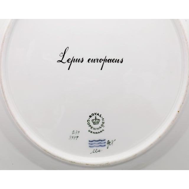 This charming porcelain dinner plate from Royal Copenhagen exhibits that firm's iconic Flora Danica pattern. While most...