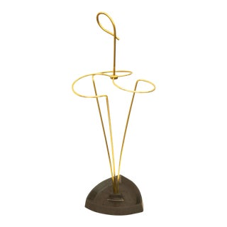 Austrian brass umbrella stand