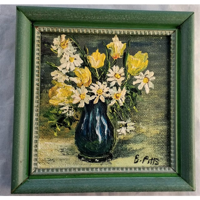 Mini Still Life Oil Painting - Image 2 of 5