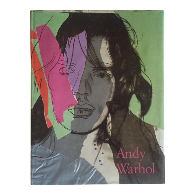 """""""Andy Warhol Commerce Into Art"""" Vintage 1990 1st Edition Hardcover Art Book For Sale"""