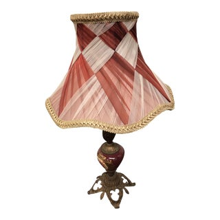 Vintage French Style Table Lamp For Sale