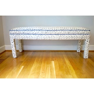 Parsons Bench With Brunschwig and Fils Les Touches Preview
