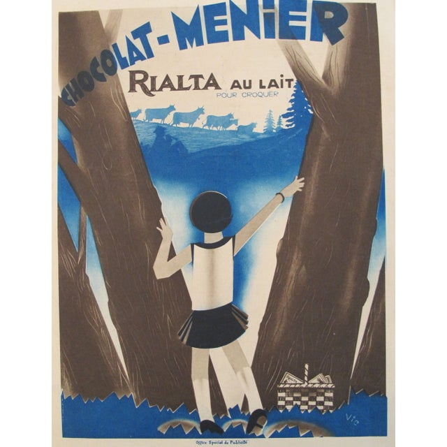 Colorful French Art Deco Chocolate Mini Poster - Image 3 of 4