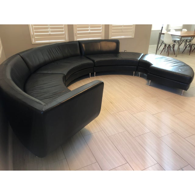 Contemporary Contemporary American Leather Menlo Park Sectional For Sale - Image 3 of 13