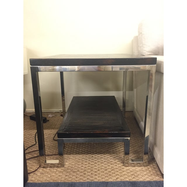 Artistica Modern Metal End Table - Image 2 of 7