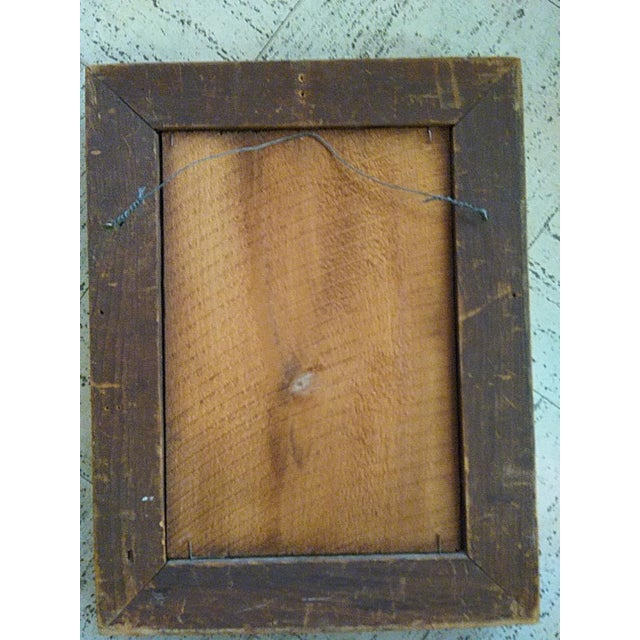 Classic Intaglio Faux Malachite Art For Sale - Image 4 of 5
