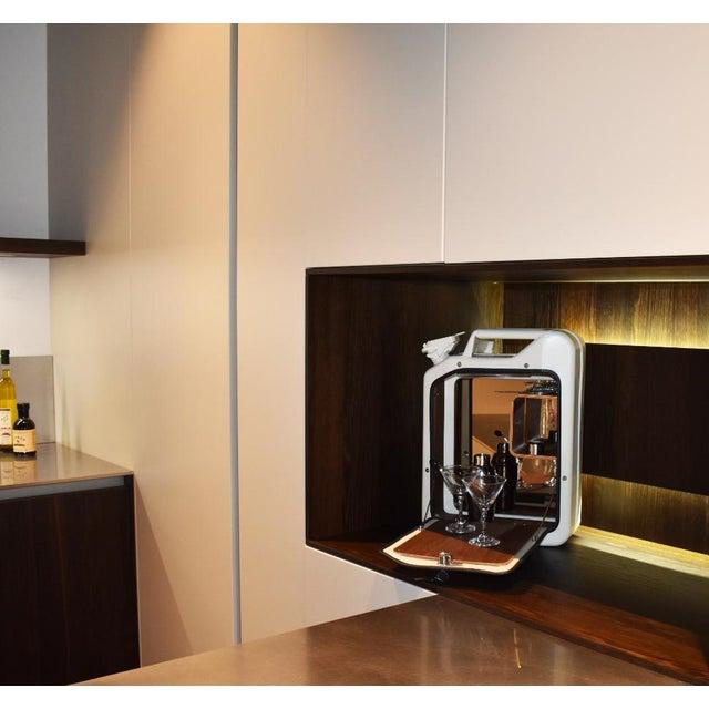 Danish Fuel White Bar Cabinet For Sale In Miami - Image 6 of 9