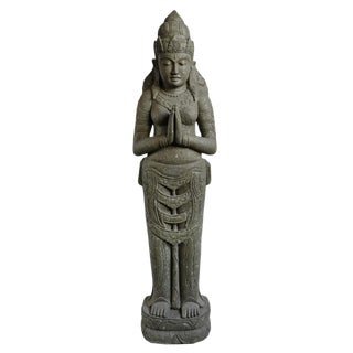 Stone Siwa Standing Figure For Sale