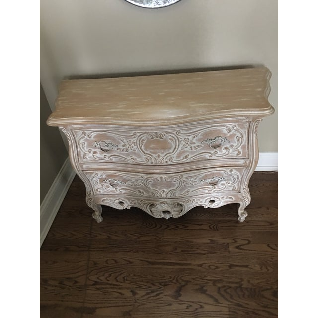 Wood 1990s Louis XV Chest For Sale - Image 7 of 8