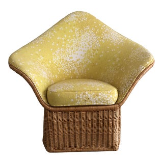 Vintage The McGuire Company Wicker Chair For Sale