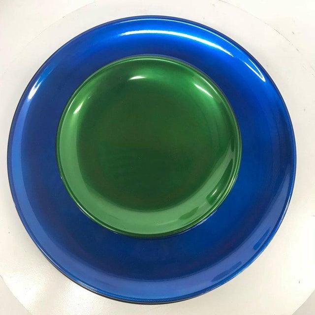 Set of Italian Decorative Plates by Afra E Tobia Scarpa San Lorenzo Design For Sale - Image 10 of 10