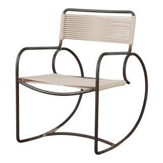 Walter Lamb for Brown Jordan Bronze Patio Rocking Chair