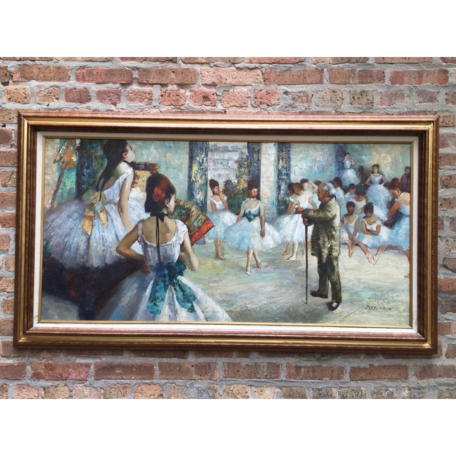 """Edgar Degas """"The Dance Class"""" Reproduction - Image 2 of 11"""