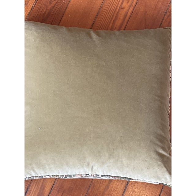 Vintage Fortuny Pillows - a Pair For Sale - Image 4 of 8