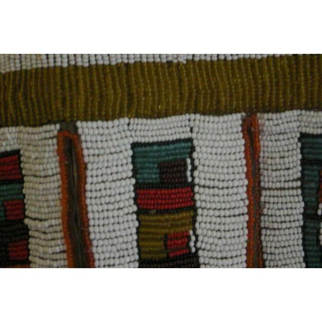 Early 20th Century Antique African Wedding Apron From the Ndebele Tribe For Sale - Image 5 of 9