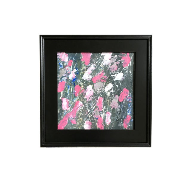 Blooms in the Dark Original Painting For Sale - Image 4 of 4
