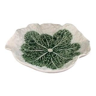 Bordallo Pinheiro Cauliflower Majolica Bowl For Sale