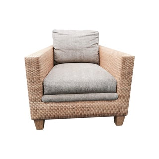 Transitional Rattan Chairs - A Pair