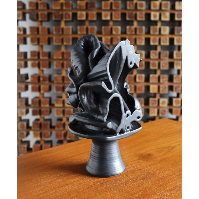 Tim Keenan Abstract Ceramic Sculpture For Sale - Image 10 of 12