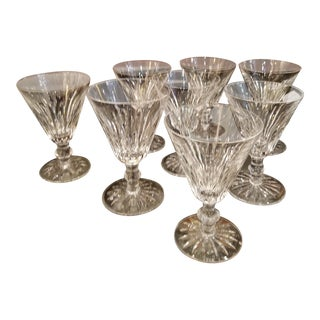 Vintage Irish Waterford Crystal Wine Glasses - Set of 8