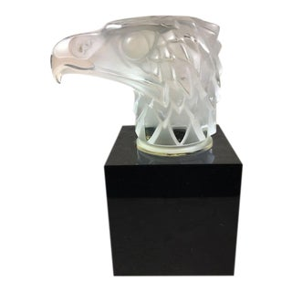 Lalique Eagle Car Mascot Paperweight For Sale