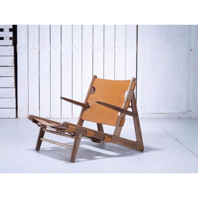 Borge Mogensen Inspired Hunting Chairs - a Pair For Sale In Chicago - Image 6 of 9