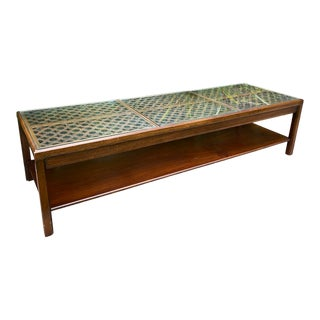 1970s Hollywood Regency Style Coffee Table For Sale