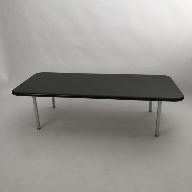 Herman Miller Rare George Nelson Granite Coffee Table For Sale - Image 4 of 10
