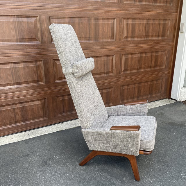 Mid-Century Modern Mid 20th Century Lounge Chair Attributed to Adrian Pearsall For Sale - Image 3 of 6