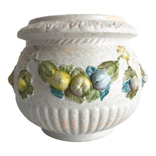 Large Vintage Italian-Style Planter For Sale