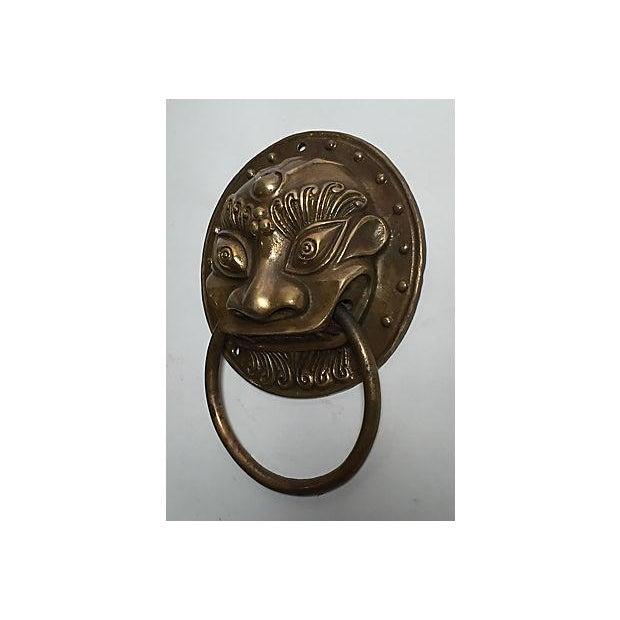 Brass Foo Dog Door Knocker - Image 5 of 5