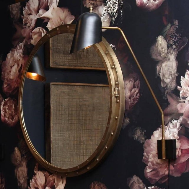 Mid-Century Modern Mid Century Sconce, Large For Sale - Image 3 of 4