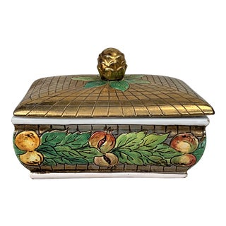 Vintage Italian Box With Cover For Sale