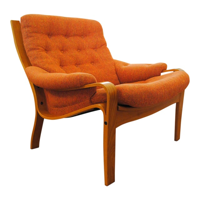 Norwegian Modern Lounge Chair - Image 1 of 11