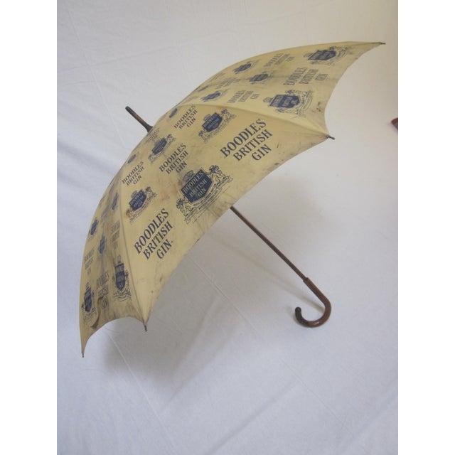 Vintage Boodles Gin Advertising Umbrella - Image 2 of 8