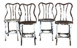 Image of Shabby Chic Low Stools