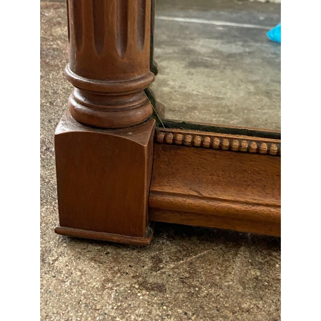 Metal Federal Style Three Panel Eagle Mirror For Sale - Image 7 of 8