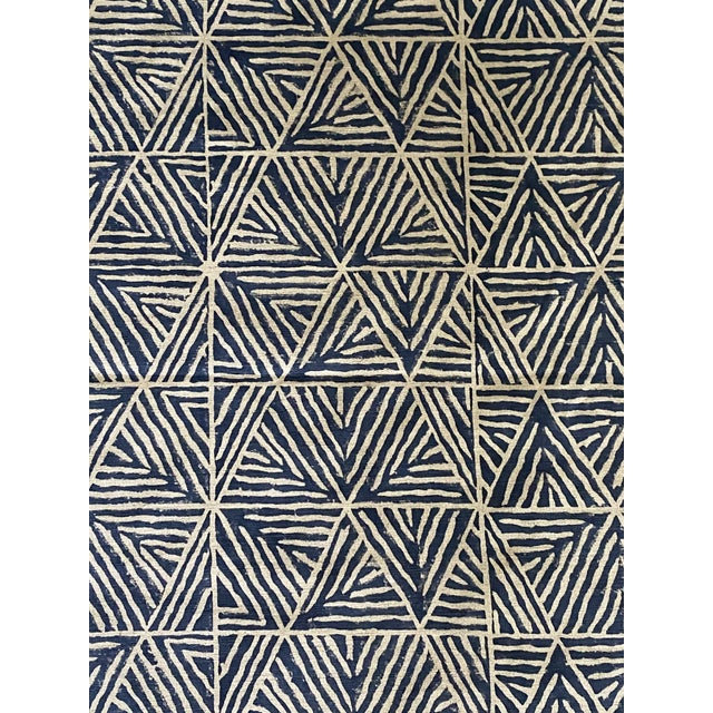 2020s 3 Yards of Thibaut Mombasa Linen Fabric For Sale - Image 5 of 5