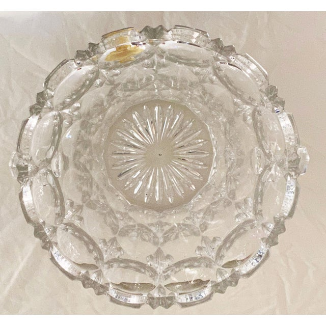 Vintage 1970s Lead Crystal Ice Bucket For Sale In Los Angeles - Image 6 of 9