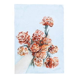 Hawthorn Marigold Art For Sale