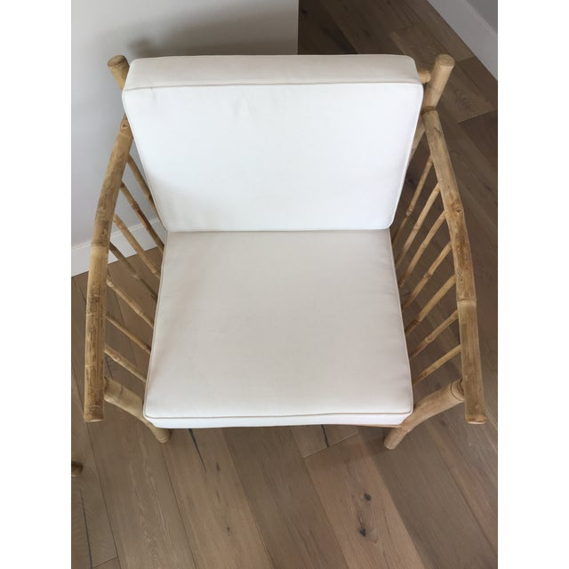 Bamboo Club Chairs - A Pair - Image 6 of 6