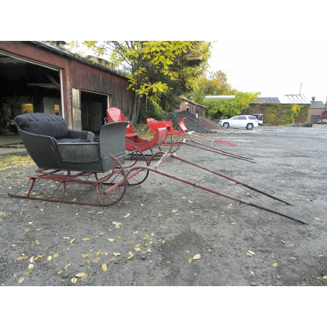 Antique Two-Passenger Sleigh - Image 2 of 10