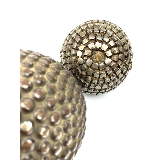 Late 19th Century Antique French Pétanque Balls - a Pair For Sale - Image 5 of 8