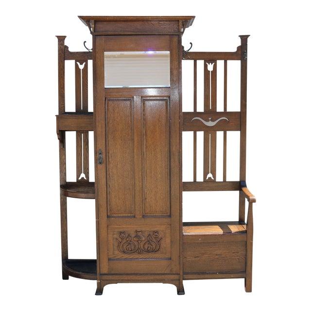 Antique Curio Cabinet - Image 1 of 9