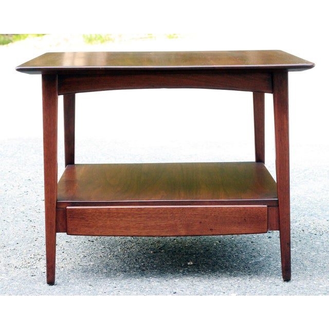 Russel Wright Mid Century Modern Occasional Table - Image 2 of 7