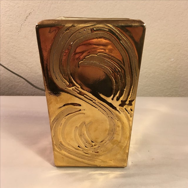 Weeping Gold Vase - Image 3 of 8