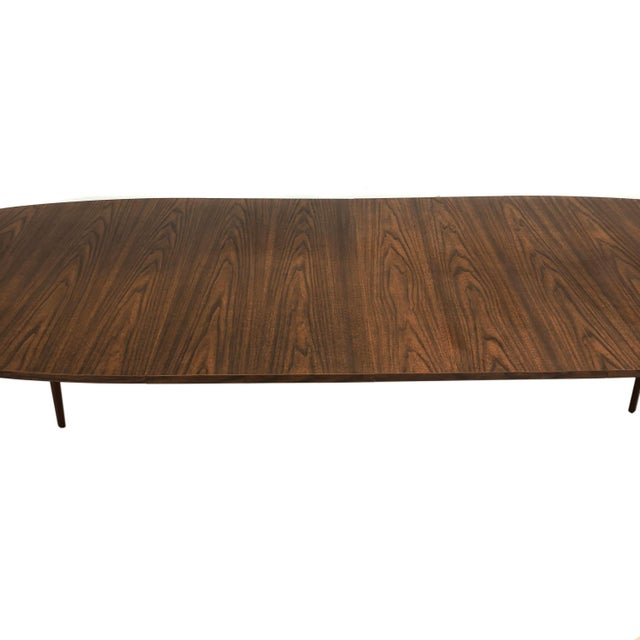 Mid Century Modern Mel Smilow Dining Table With Two Leaves For Sale In New York - Image 6 of 9