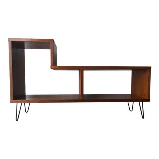 Vintage Mid-Century Modern Danish Media / Display Cabinet by Jesper International For Sale