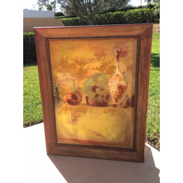 Abstract Expressionist Oil Painting - Image 2 of 5