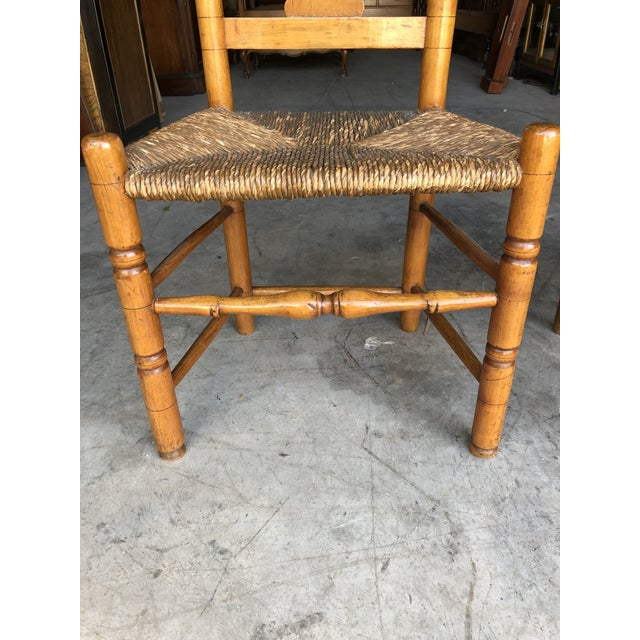 Late 18th Century Country Queen Anne Chairs- A Pair For Sale In New York - Image 6 of 11